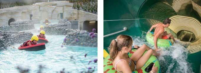 Grootste aquapark Centerparcs Frankrijk