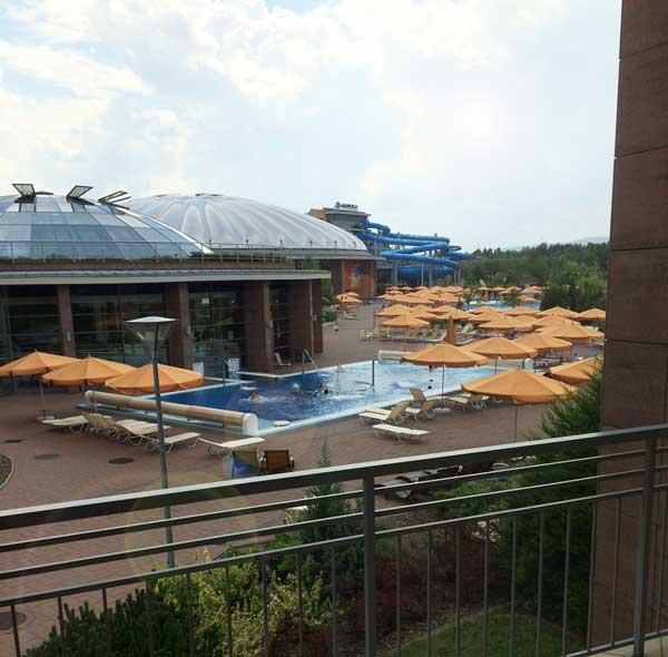 Hotel Boedapest met aquapark