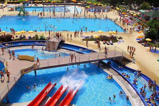 Camping met groot zwembad in Slovenië