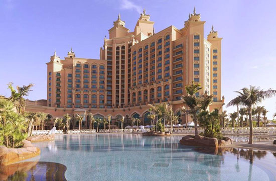 Hotel Dubai met aquapark