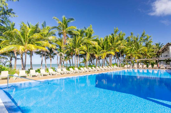 Luxe hotel Mauritius met zwembad