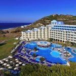 Mooi hotel op Rhodos met groot zwembad en een privé zwembad