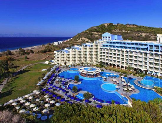 Hotel met privé zwembad op Rhodos