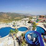 Prachtig zwemparadijs bij hotel in Turkije