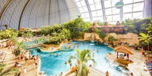 Grootste subtropische zwembad ter wereld vind je dichtbij Berlijn