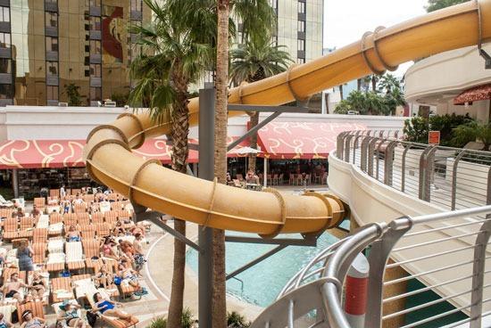 Hotel met mega zwembad in Las Vegas