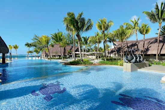 Hotel met zwemparadijs op Mauritius