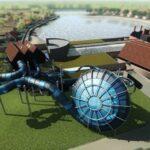 Gloednieuw waterpark met grootste indoor waterglijbaan ter wereld