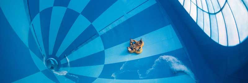 Grootste waterglijbaan ter wereld vind je in Nederland