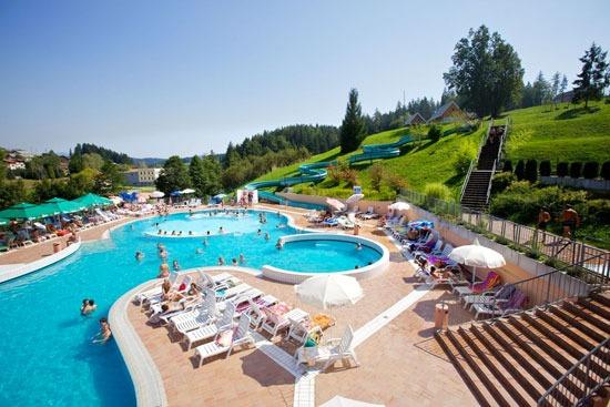 Vakantiepark in Slovenië met zwemparadijs