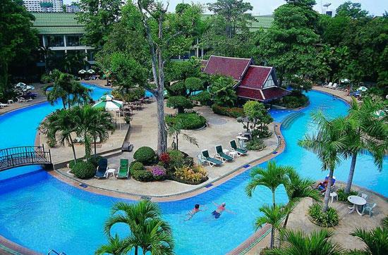 Vakantieresort in Thailand met zwembad