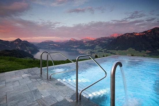 Wintersport Zwitserland met droomzwembad