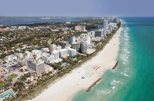 Heerlijke zonvakantie aan het prachtige Miami Beach in Amerika