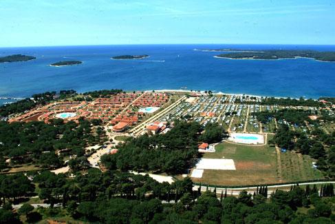 Gezellige camping aan de zonnige kust van Kroatië
