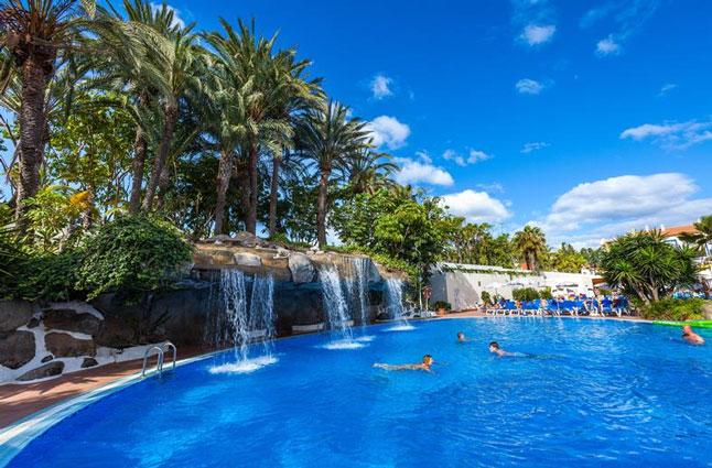 Hotel met zwemparadijs in tenerife zwembadvakantie top for Botanische tuin tenerife