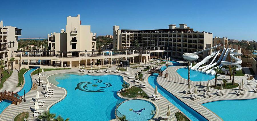 Prachtig familieresort in Egypte met enorm zwembadencomplex!