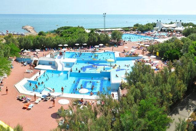 Camping Adriatische Kust met zwemparadijs
