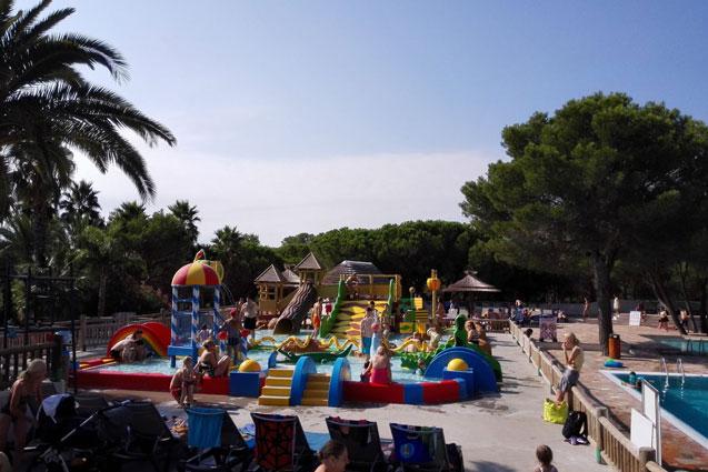 Vakantiepark in Frankrijk met zwemparadijs
