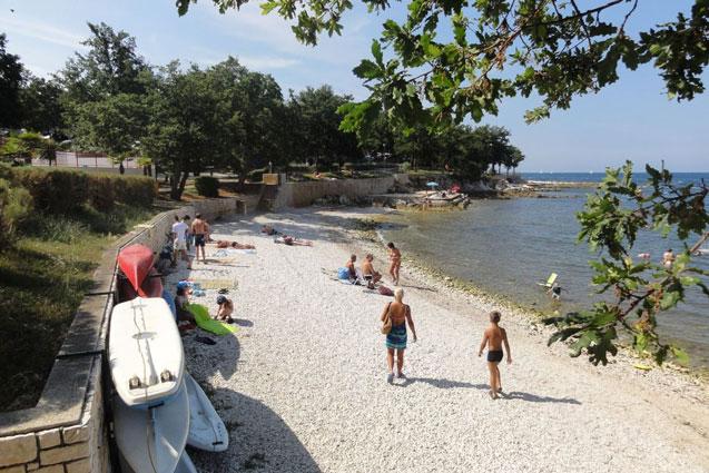 Geliefde Kroatische camping aan zee in het prachtige Istrië