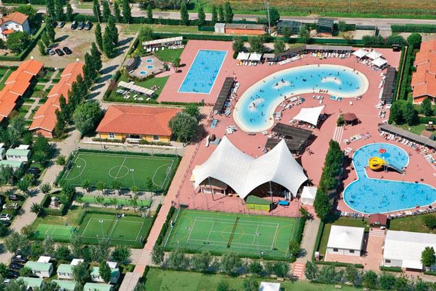 Camping Adriatische Kust met aquapark