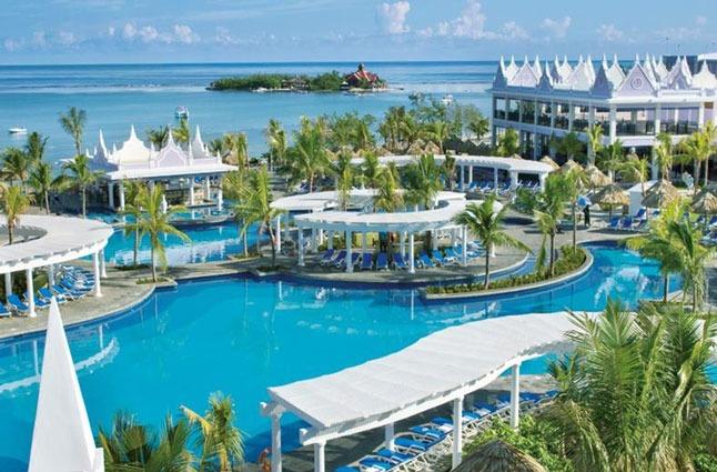 Hotel op Jamaica aan het strand en met zwembad