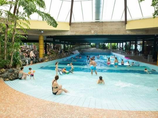 Vakantiepark in de Brabantse bossen met subtropisch waterparadijs