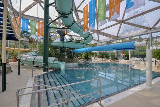 Vakantiepark in Duitsland met zwemparadijs