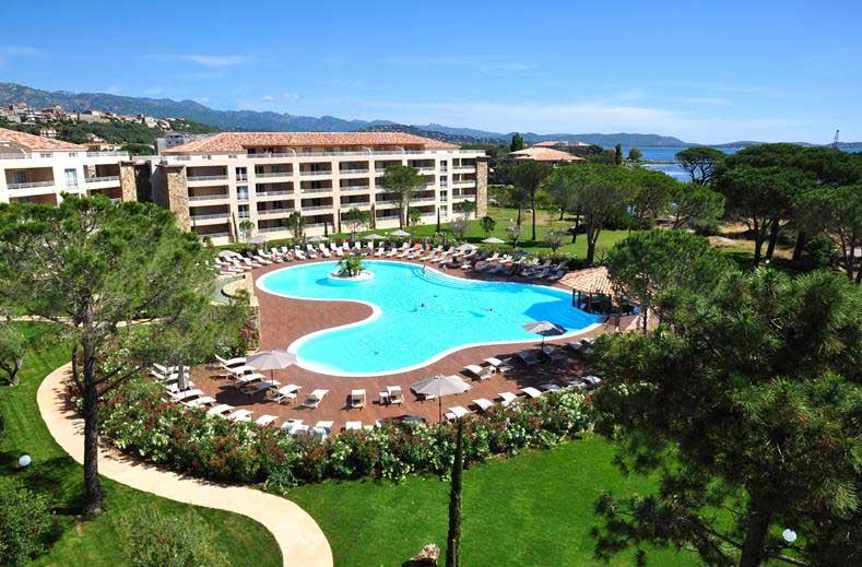 Appartementen op Corsica met zwembad