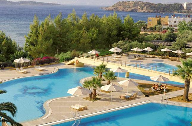 Kreta, resort met mooie zwembaden