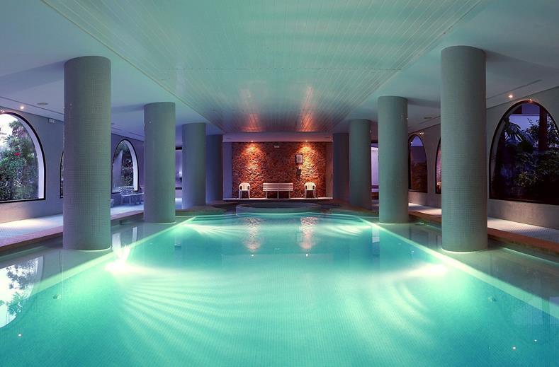 Wellness en sauna op dit resort op Mallorca