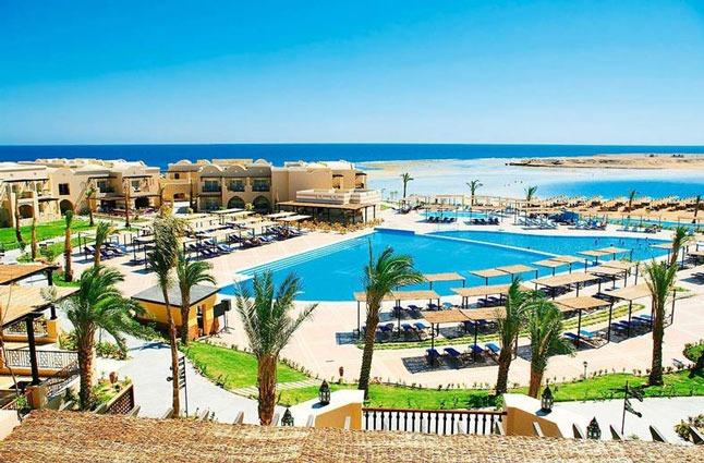Op strand- en zwembadvakantie naar Egypte