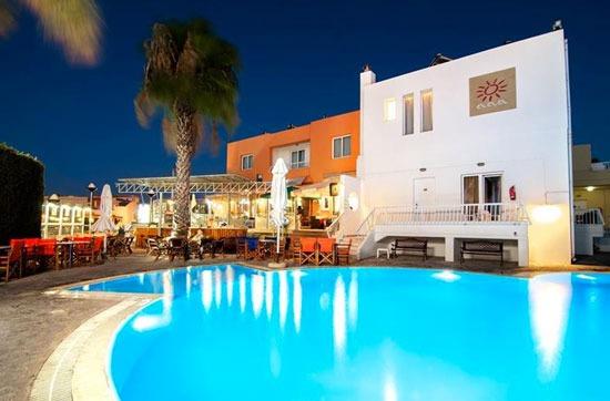 Appartement Rhodos met zwembad