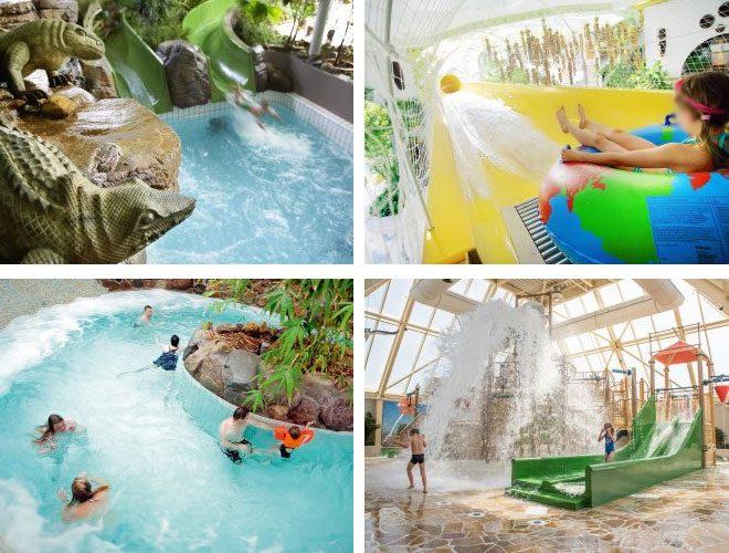 Grote Aqua Mundo bij Center Parcs Zeeland