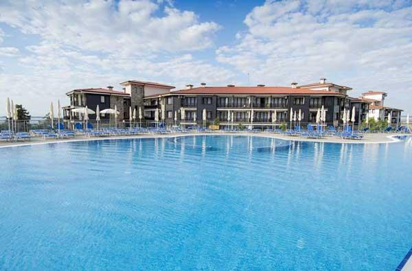 Modern hotel op Sunny Beach Bulgarije. Met aquapark!