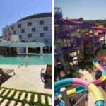 Modern hotel in Sevilla met binnen- én buitenzwembad, aquapark op 500 meter!