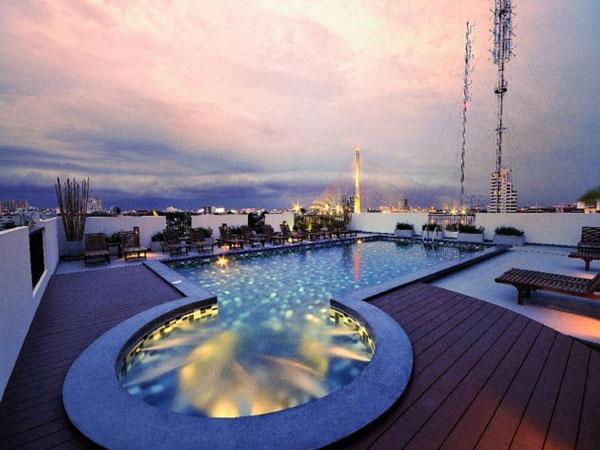 Hotel in Bangkok met zwembad