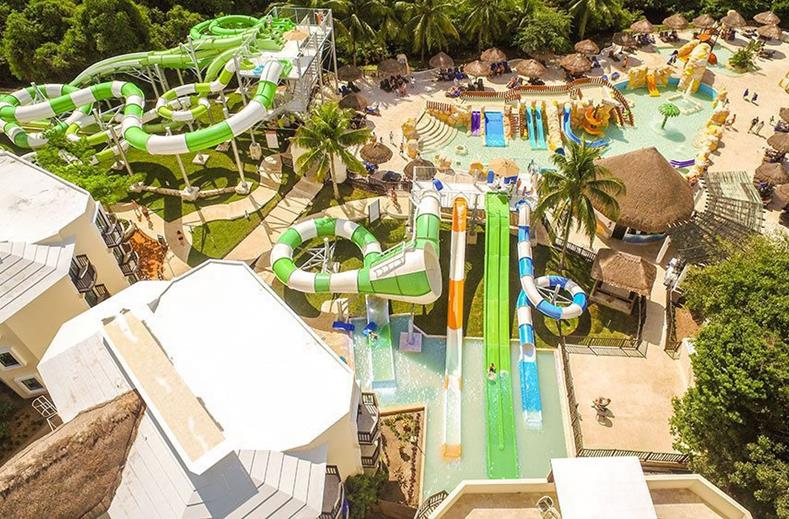 Hotel in Mexico met aquapark