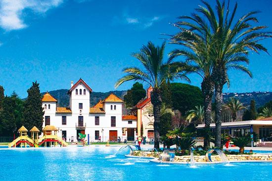 Camping Costa Brava met zwembad