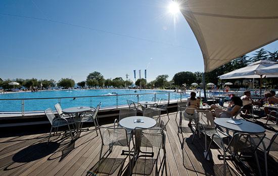 Camping met grote zwembaden in Kroatië