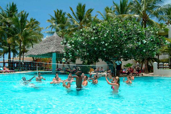 Vakantie met zwemparadijs in Kenia