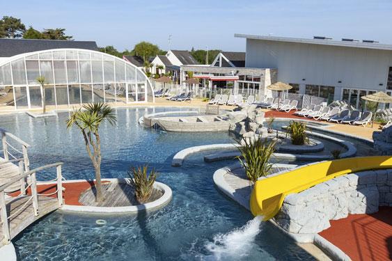 Vakantiepark met zwemparadijs in Frankrijk