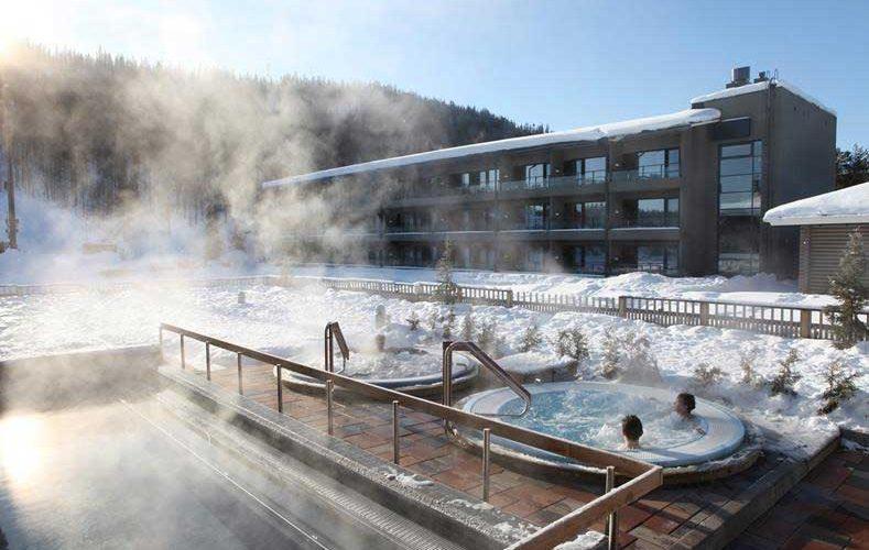 Mooi hotel in Finland met groot wellnesscentrum en veel zwembaden!