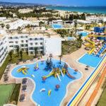 Hotel aan de Golf van Hammamet met geweldig aquapark