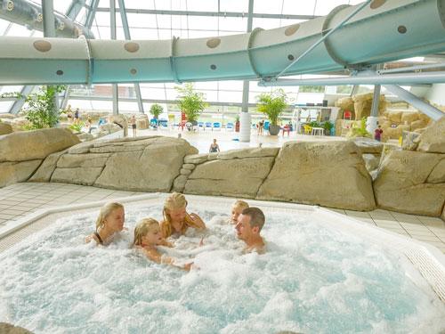 Bungalowpark Denemarken met zwembad