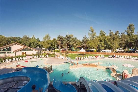camping Bourgogne met aquapark