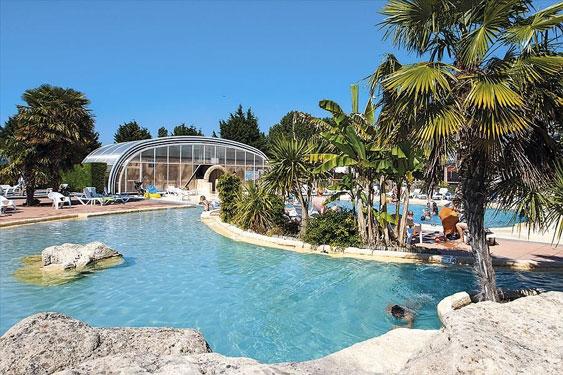 Camping Normandië met groot zwembad
