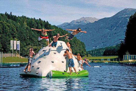 Direct aan zwemmeer gelegen camping in Oostenrijk