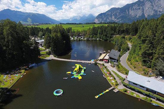 Camping Oostenrijk met zwemmeer