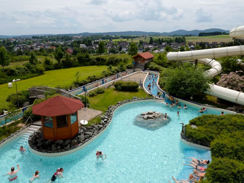 Vakantie Sauerland met zwembad