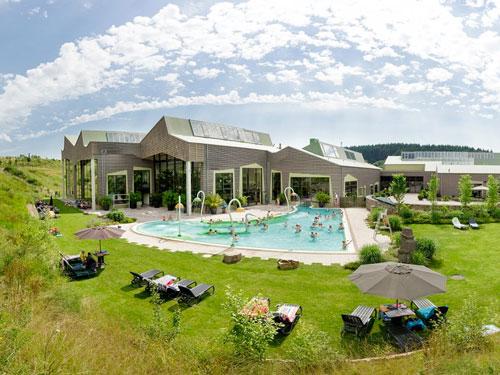 Vakantiepark Saalbach met zwembad